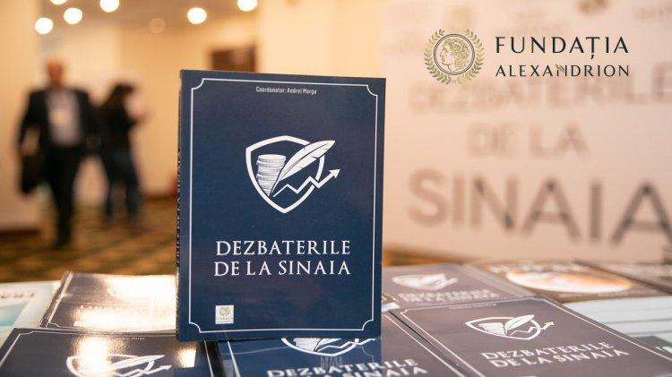 """Fundaţia Alexandrion organizează online a patra ediţie a """"Dezbaterilor de la Sinaia"""""""