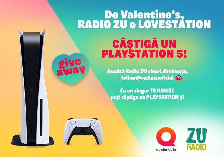Radio ZU pune la bătaie cel mai nou și dorit model de PlayStation 5!