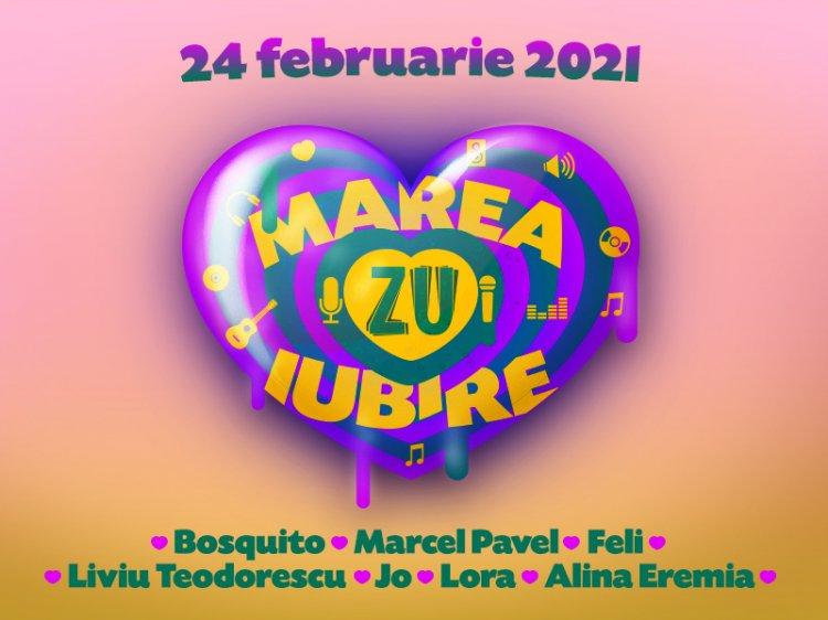 Marea Iubire ZU, festivalul cântecelor de dragoste. De Dragobete, iubirea se cântă la ZU.