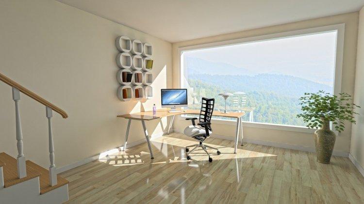 Amenajarea biroului de acasă în 4 pași simpli