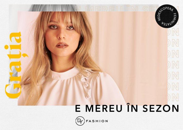 Odată cu primăvara, DY Fashion lansează prima campanie de imagine a brandului