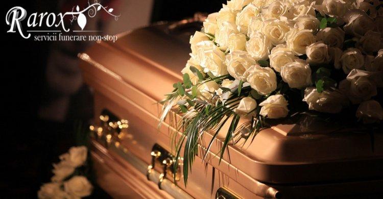 Serviciile funerare platite pe baza de talon de pensie - oferte Rarox
