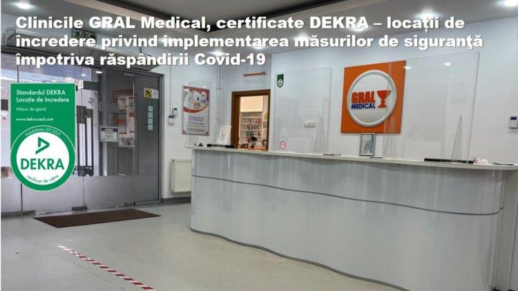 Prima clinică medicală privată care își certifică locaţiile pentru implementarea măsurilor de prevenire şi siguranţă