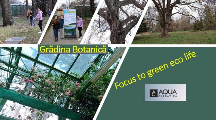 """""""Focus to Green Eco Life"""" susține startul curăţeniei de primăvară la Grădina Botanică"""