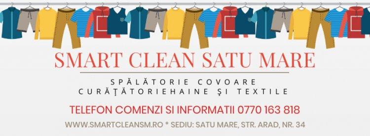 Alege Smart Clean pentru spalatorie covoare si curatatorie haine