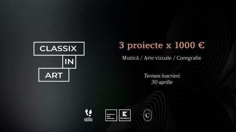 Classix in Art: apel de proiecte pentru susținerea artiștilor independenți