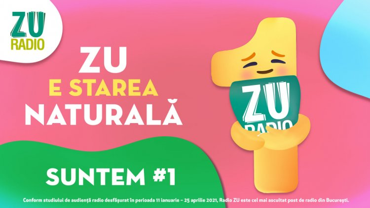 Radio ZU - lider în București Singurul radio cu peste 200.000 de ascultători unici pe zi