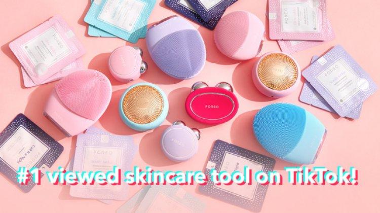 FOREO – cel mai vizualizat brand de skincare pe TikTok