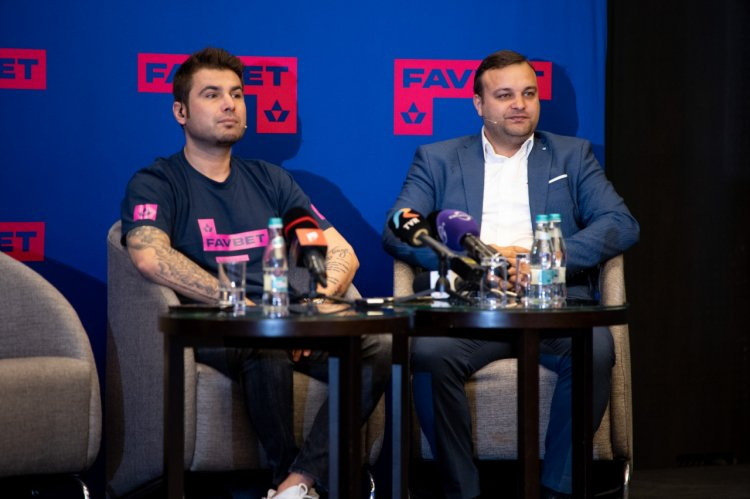 Compania de pariuri Favbet a marcat campania de rebranding, ieri, prin intermediul unei conferințe organizate alături de cei t