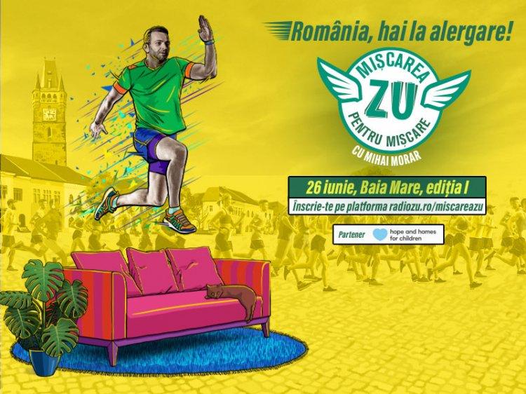 """România, hai la alergare! Împreună facem """"Mișcarea ZU. Mișcarea pentru Mișcare""""!"""