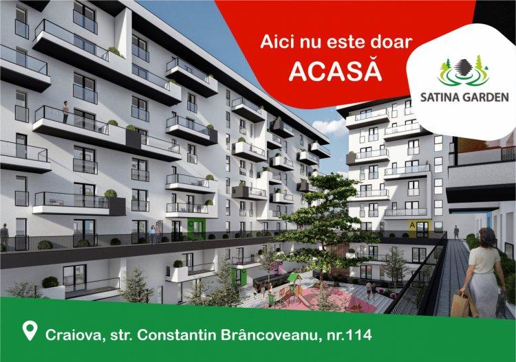 SATINA GARDEN CRAIOVA, complexul rezidențial care înseamnă mai mult decât ACASĂ