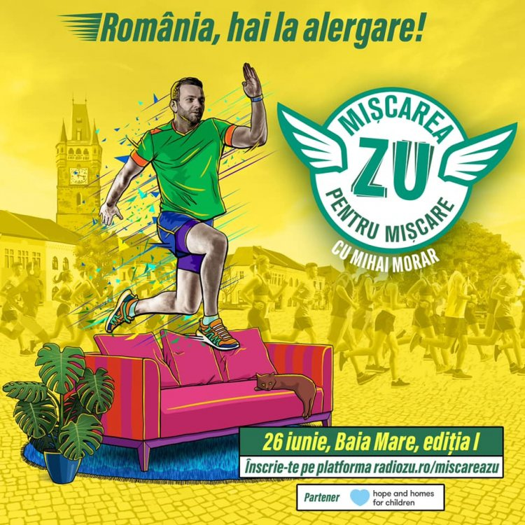 """Mihai Morar: """"Visez de un an și jumătate, la propriu, ziua asta. Niște nebuni de alergare, care se întâlnesc la miscare!"""""""