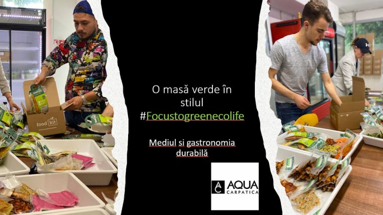 #FocusToGreenEcoLife:Obiceiuri alimentare sanatoase pentru mediu si gastronomie durabilǎ