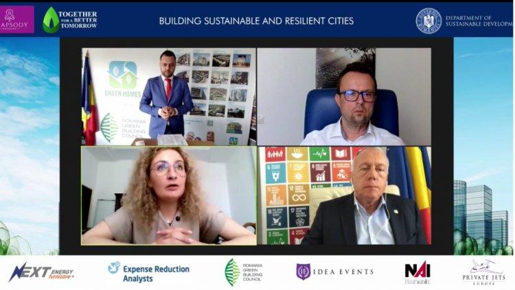 Building Sustainable&Resilient Cities: concluziile unei dezbateri aplicate despre reziliența urbană