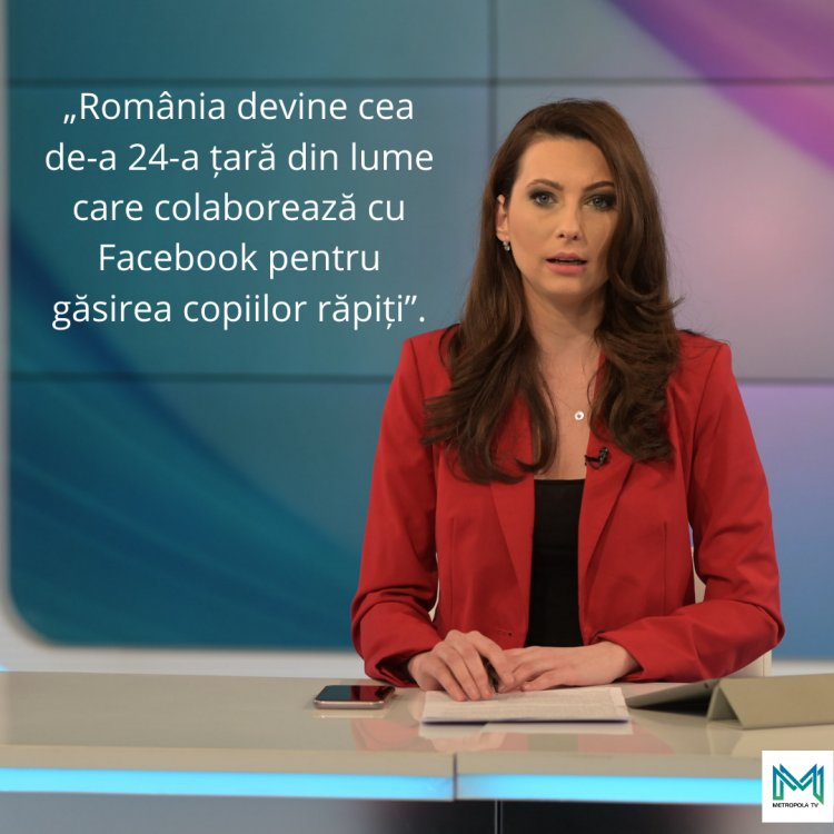 România devine cea de-a 24-a țară din lume care colaborează cu Facebook pentru găsirea copiilor răpiți