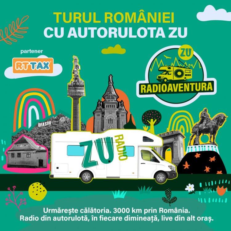 Buzdu si Morar, Emma si Tea pornesc în RADIOAVENTURA, Turul României cu Autorulota ZU