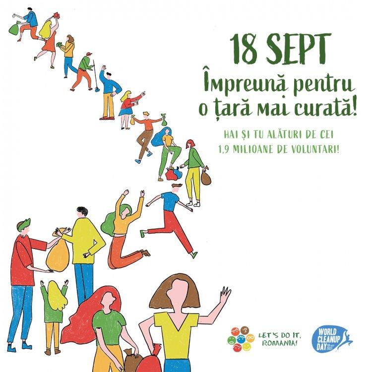 Let's Do It, Romania! organizează Ziua de Curățenie Națională! pe 18 septembrie!