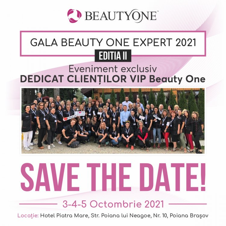 Beauty One te vrea expert în frumusețe!